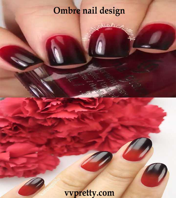 Complete Ombre Nail Designs With Tutorial Vvpretty Com