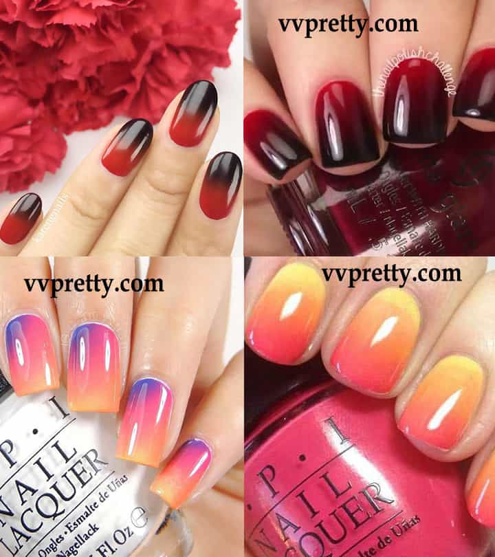 ombre nail designs ideas