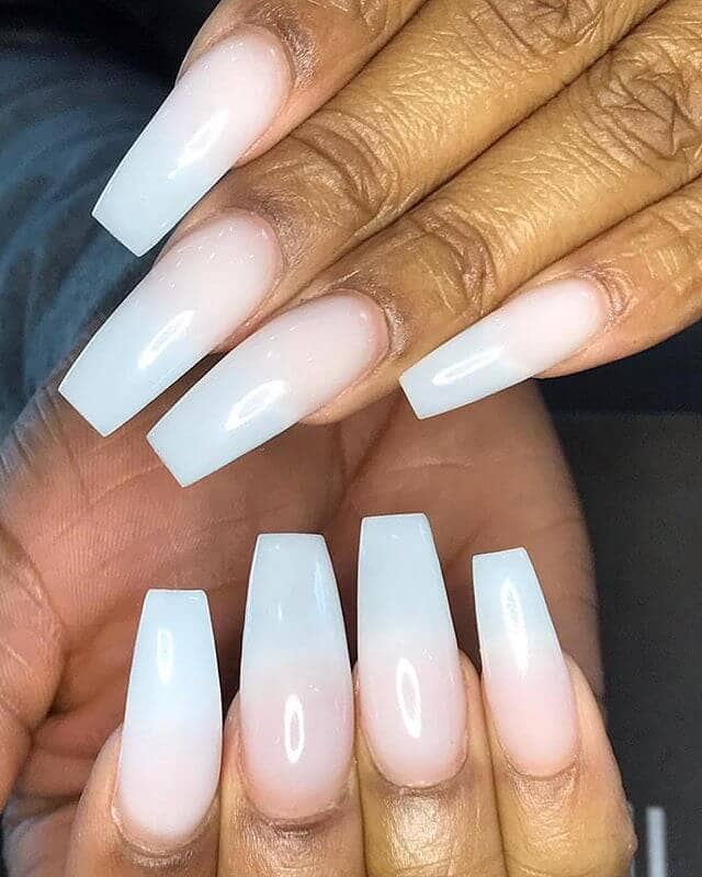 Natural Ultra Long Coffin Nail Design-vvpretty