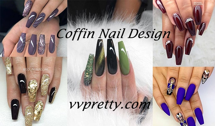 Coffin Nail designs ideas