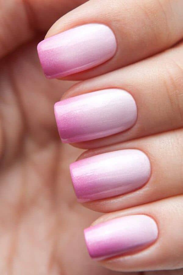 Frosty Candy Coated Ombre Nails-vvpretty