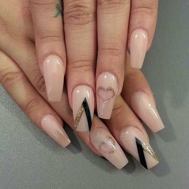 Ballerina for fingers Nails