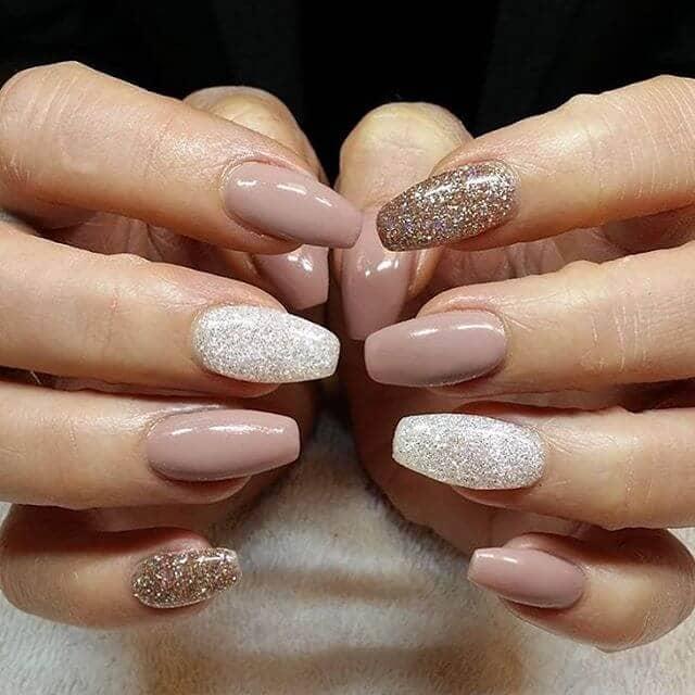 Shiny Gel Manicure for Autumn vvpretty