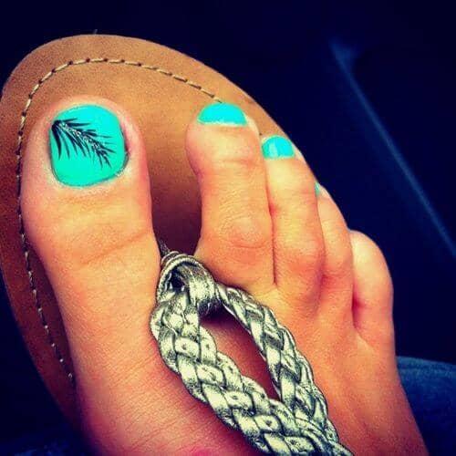 foot nails designs