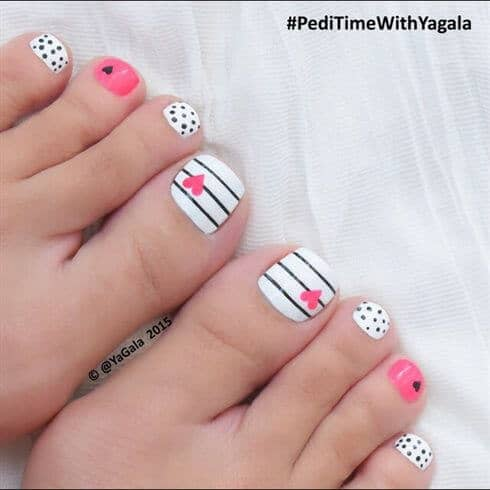 toe nails arts/ideas