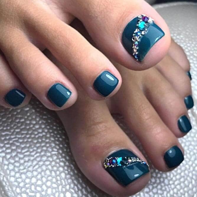 toes color