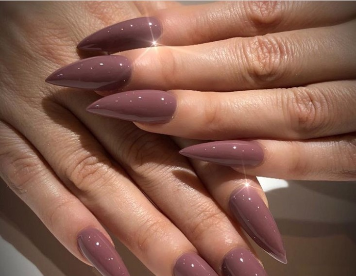 Send Nudes Stiletto Nail Designs vvpretty