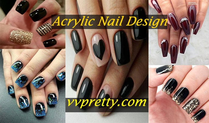 Acrylic nails designs ideas fi2