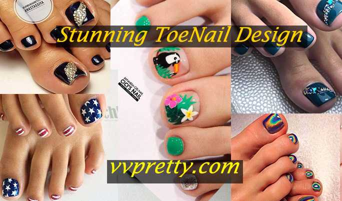 stunning toe nails designs 2020
