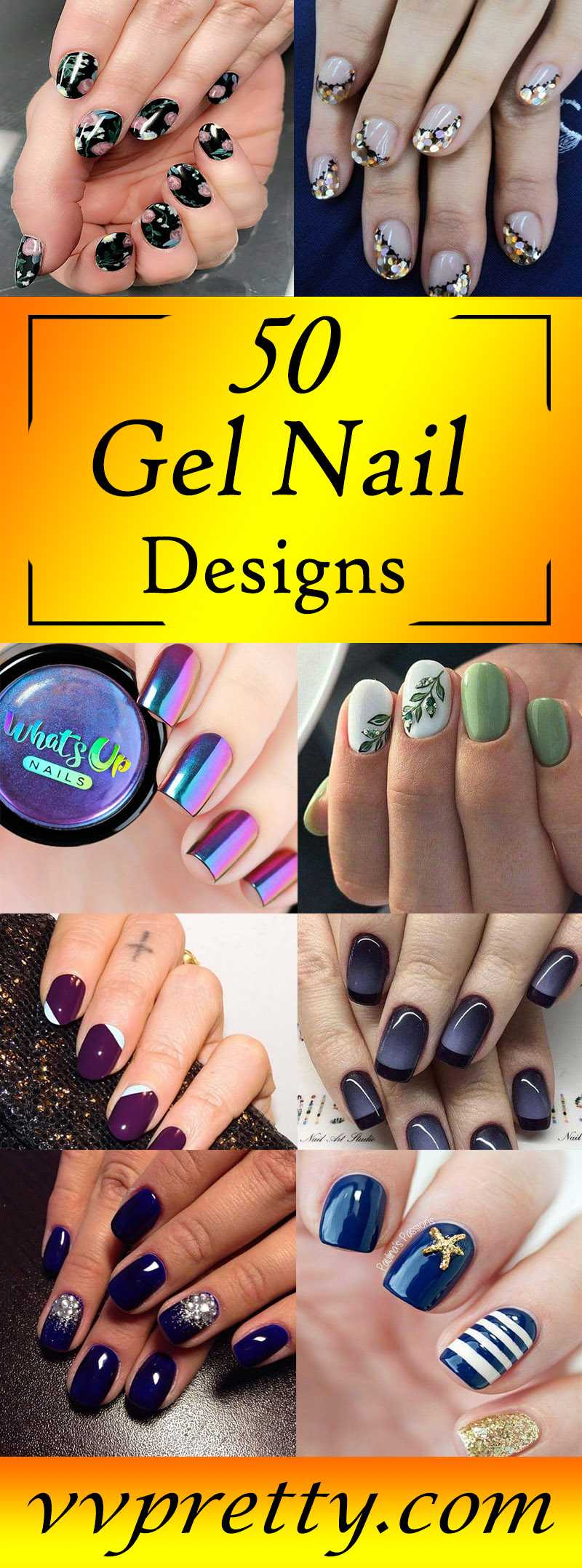 top Gel nail design 2019 vvpretty