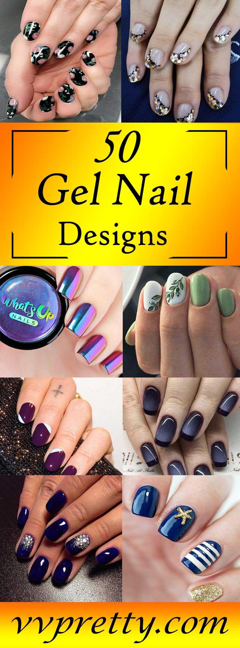 top Gel nail design 2019 vvpretty