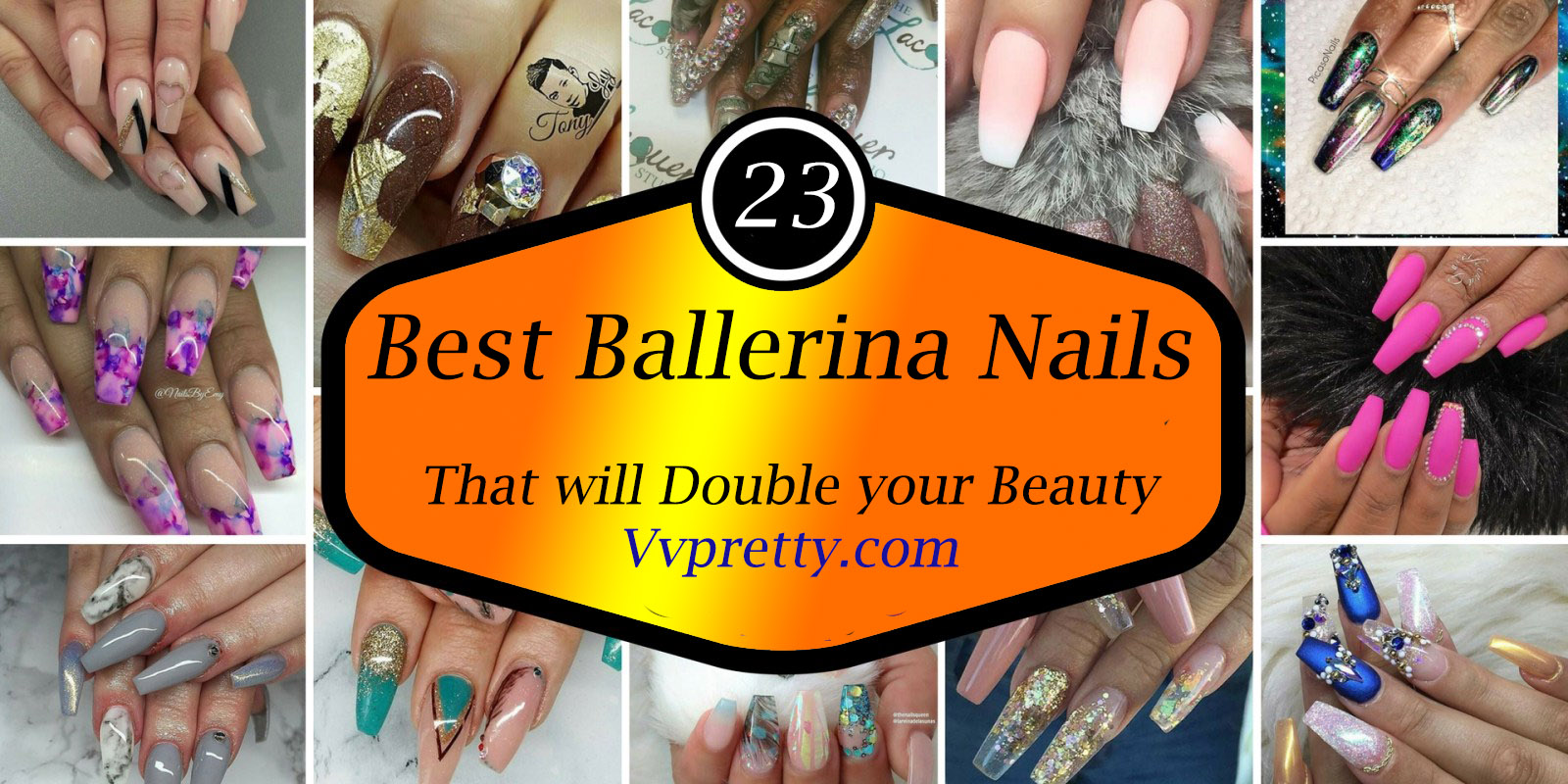 Ballerina Nail Shapes idea 2019-VVPRETTY