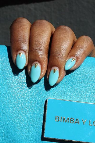 Almond shaped Nails ideas-vvprett