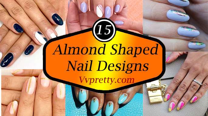 Almond Shaped Nail Designs