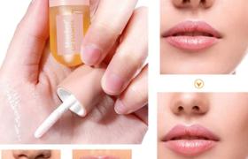 Labios Bálsamos, Lip Enhancer, Lip Plumper, Bálsamo de labios, Para Aumentar la Elasticidad del Labio, Reducir Líneas Finas, Hidratación Labial, Labio